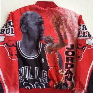 25e3a13cecdd Chalk Line Jackets   Coats - Vintage Chicago Bulls Michael Jordan Jacket  NBA